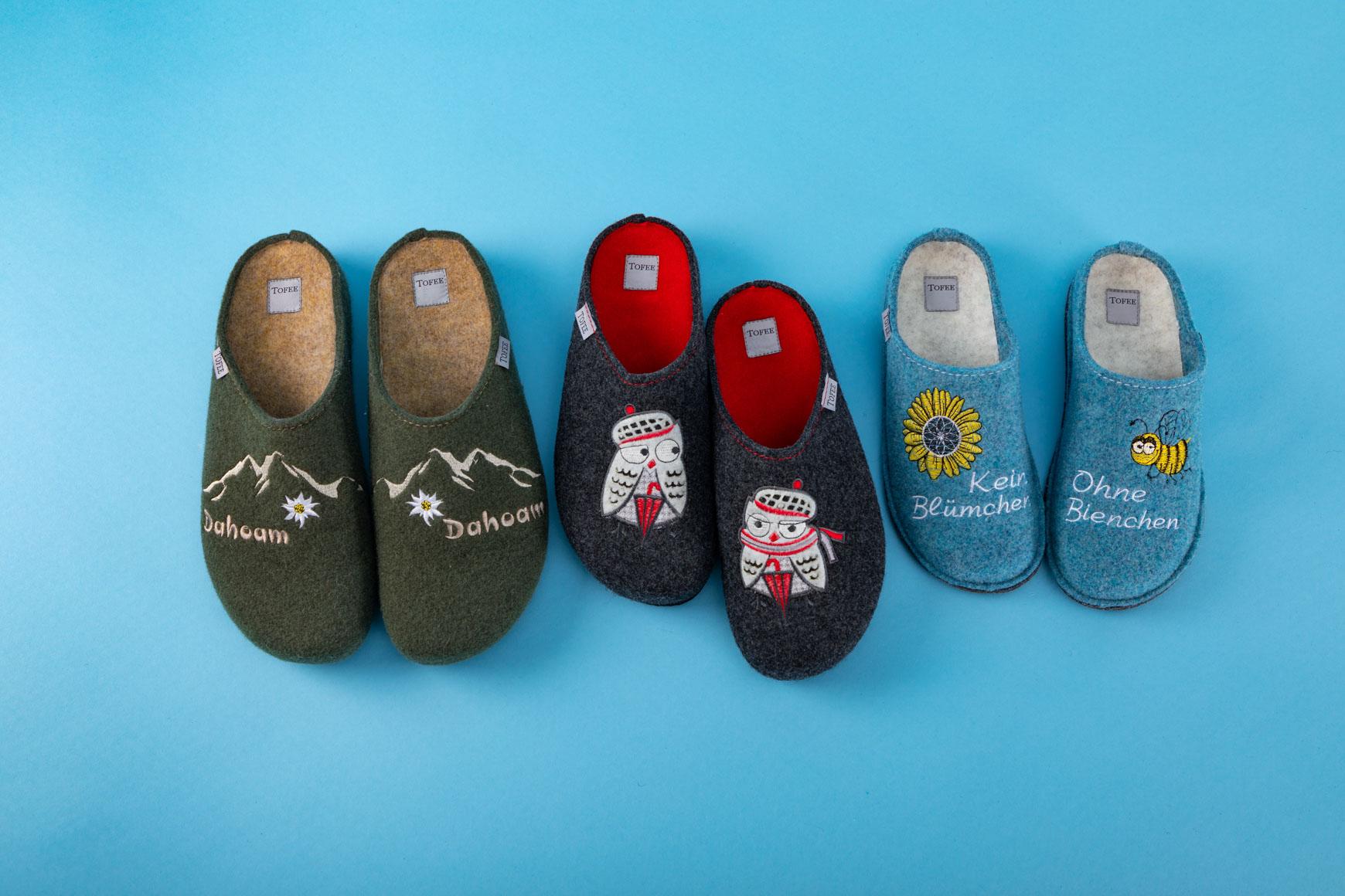 Warme Füße in der Winterzeit.